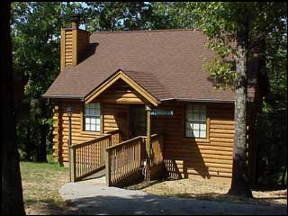 One of our cabins in Branson MO